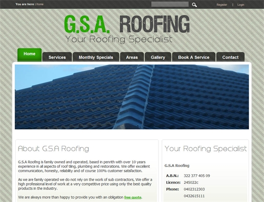 G.S.A.Roofing