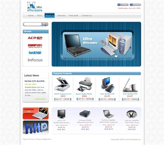 Gentex Networks PC Store