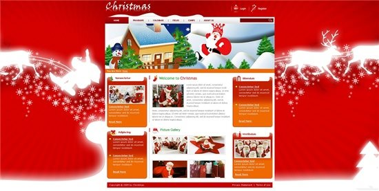 Gentex Networks Red Christmas