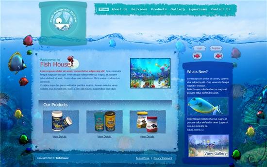 Gentex networks aquarium house pet1001 gentex networks for Site aquarium